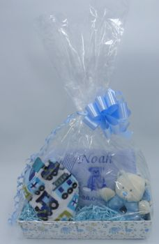 Personalised Baby Boy Gift Set - Standard